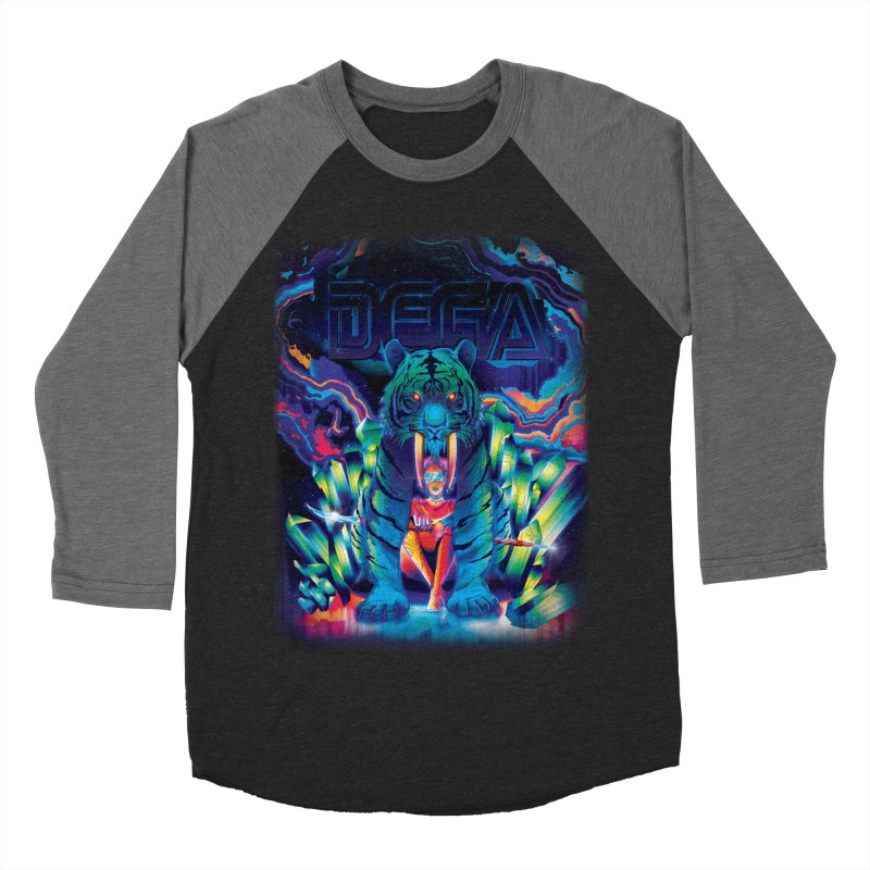 Dega Fatalis Men's Baseball Triblend T-Shirt by Dega Studios