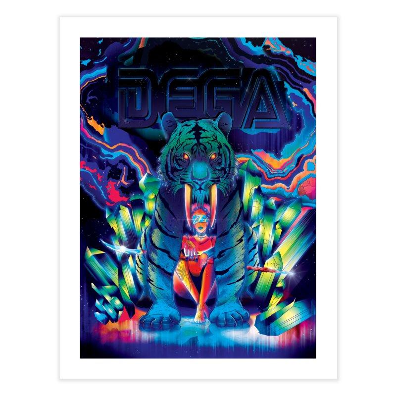 Dega Fatalis Home Fine Art Print by Dega Studios