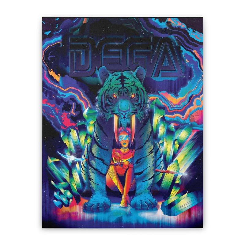 Dega Fatalis Home Stretched Canvas by Dega Studios
