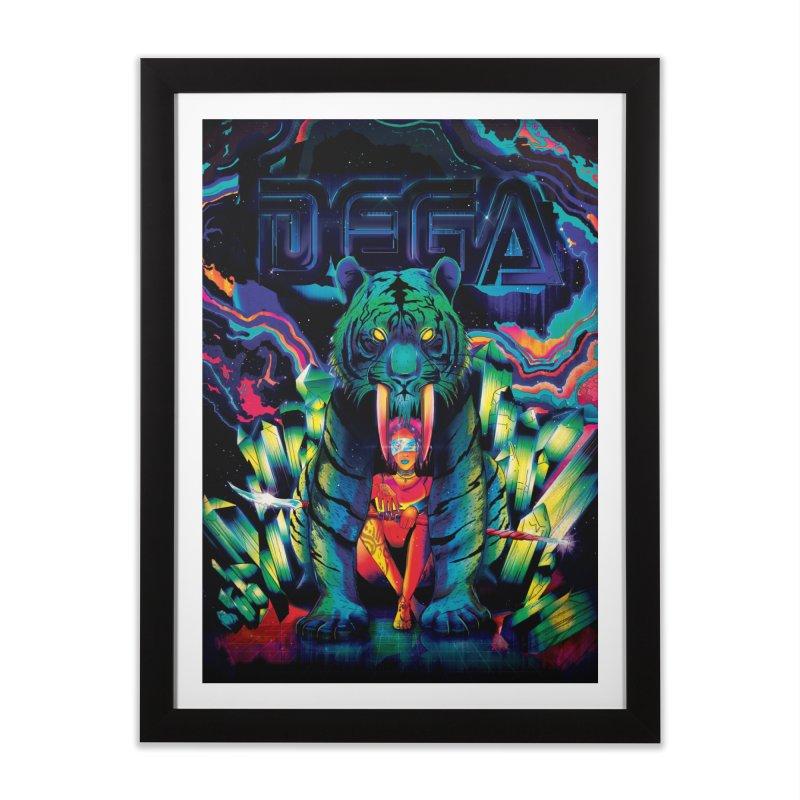 Dega Fatalis Home Framed Fine Art Print by Dega Studios