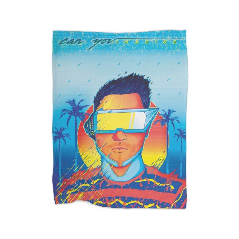 Can You Imagine Home Blanket by Dega Studios