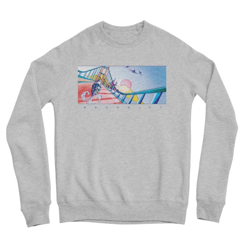 Redshift Men's Sponge Fleece Sweatshirt by Dega Studios
