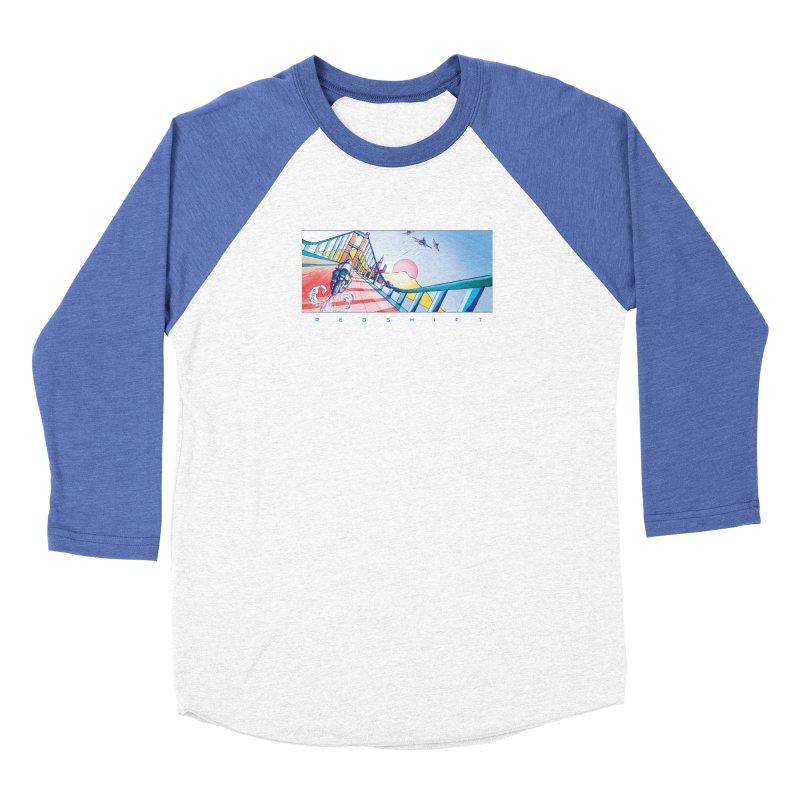 Redshift Women's Baseball Triblend Longsleeve T-Shirt by Dega Studios