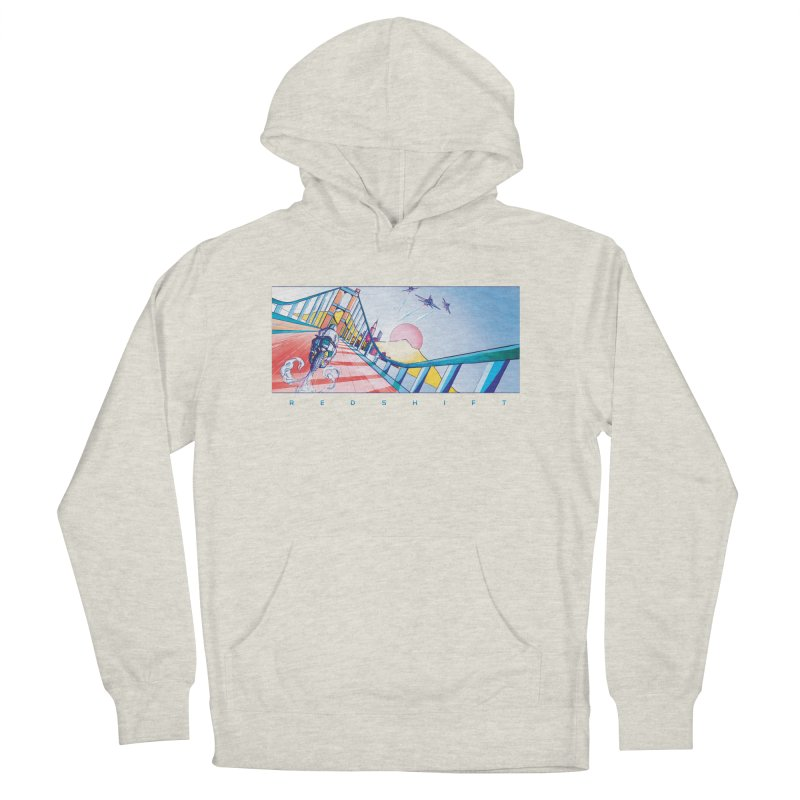 Redshift Men's French Terry Pullover Hoody by Dega Studios