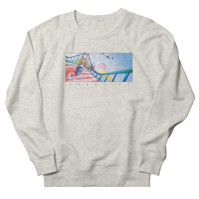Redshift Men's French Terry Sweatshirt by Dega Studios