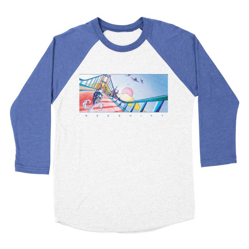 Redshift Men's Baseball Triblend Longsleeve T-Shirt by Dega Studios