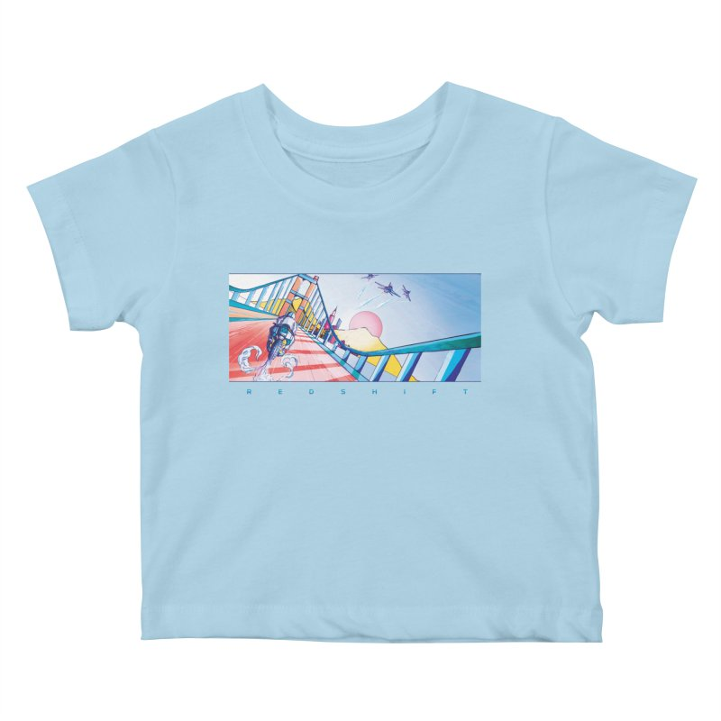 Redshift Kids Baby T-Shirt by Dega Studios