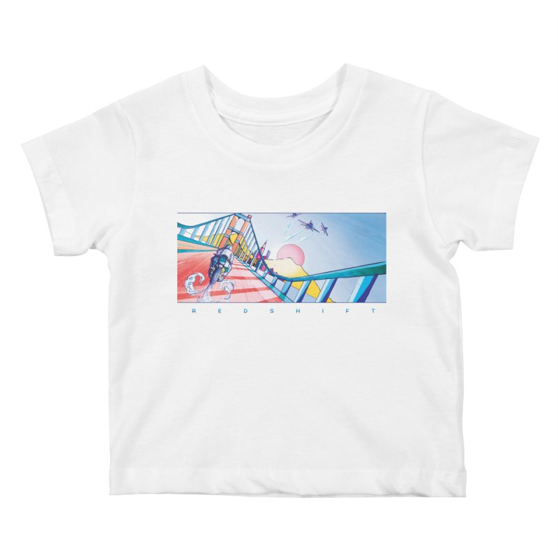 Redshift Kids Baby T-Shirt by Dega Studios