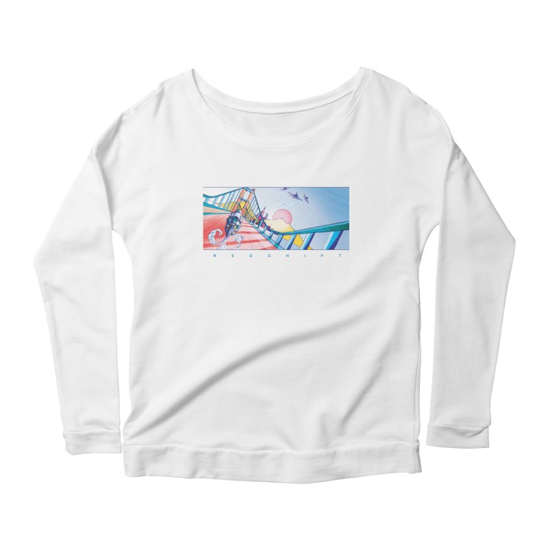 Redshift Women's Scoop Neck Longsleeve T-Shirt by Dega Studios