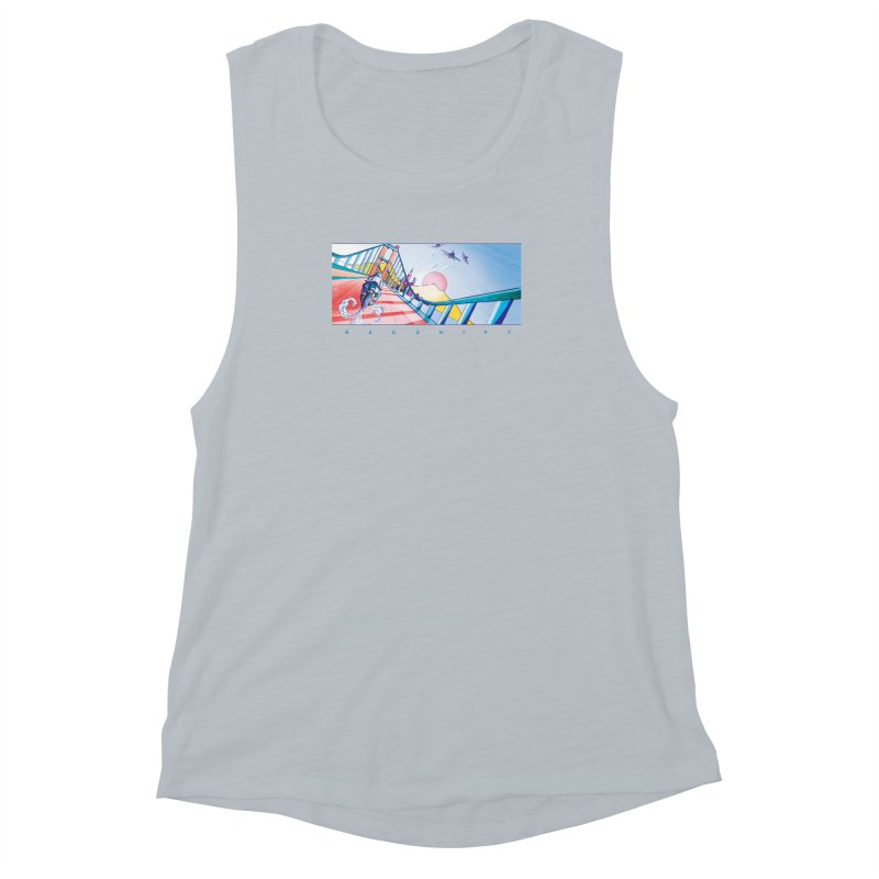 Redshift Women's Muscle Tank by Dega Studios