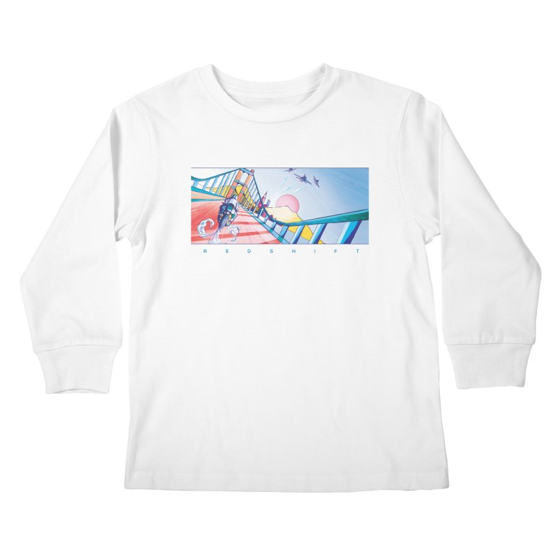 Redshift Kids Longsleeve T-Shirt by Dega Studios