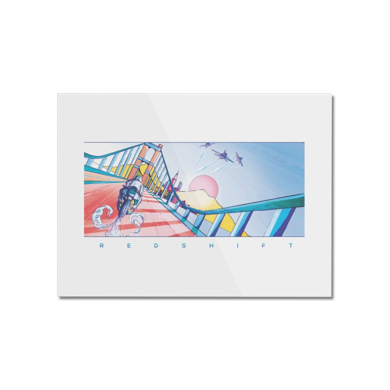 Redshift Home Mounted Acrylic Print by Dega Studios