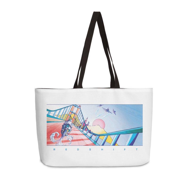 Redshift Accessories Weekender Bag Bag by Dega Studios