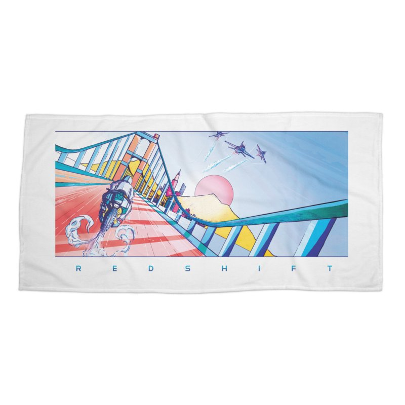 Redshift Accessories Beach Towel by Dega Studios
