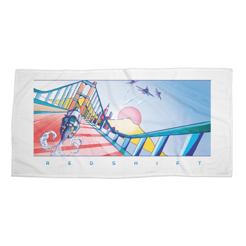 Redshift Accessories Beach Towel by Dega Studios