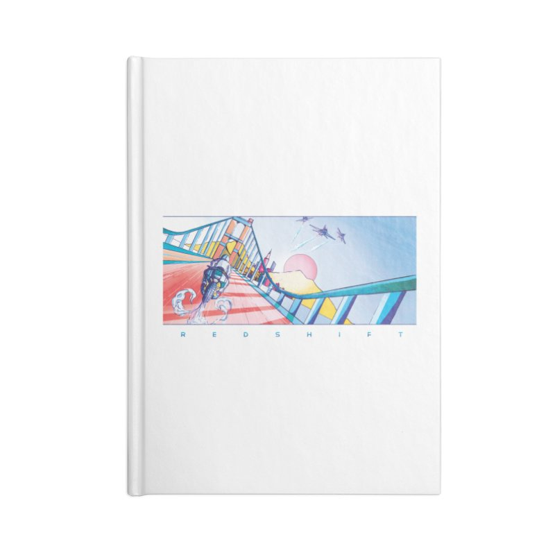 Redshift Accessories Lined Journal Notebook by Dega Studios