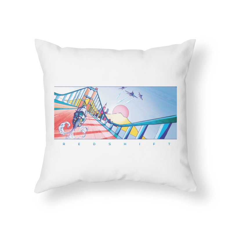 Redshift Home Throw Pillow by Dega Studios