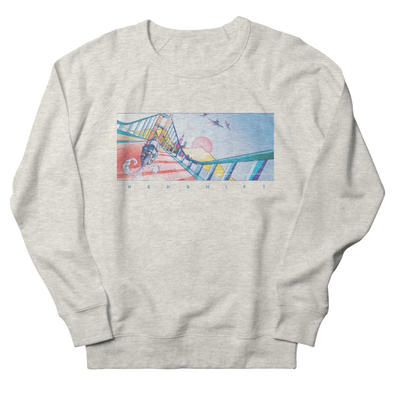 Redshift Women's French Terry Sweatshirt by Dega Studios
