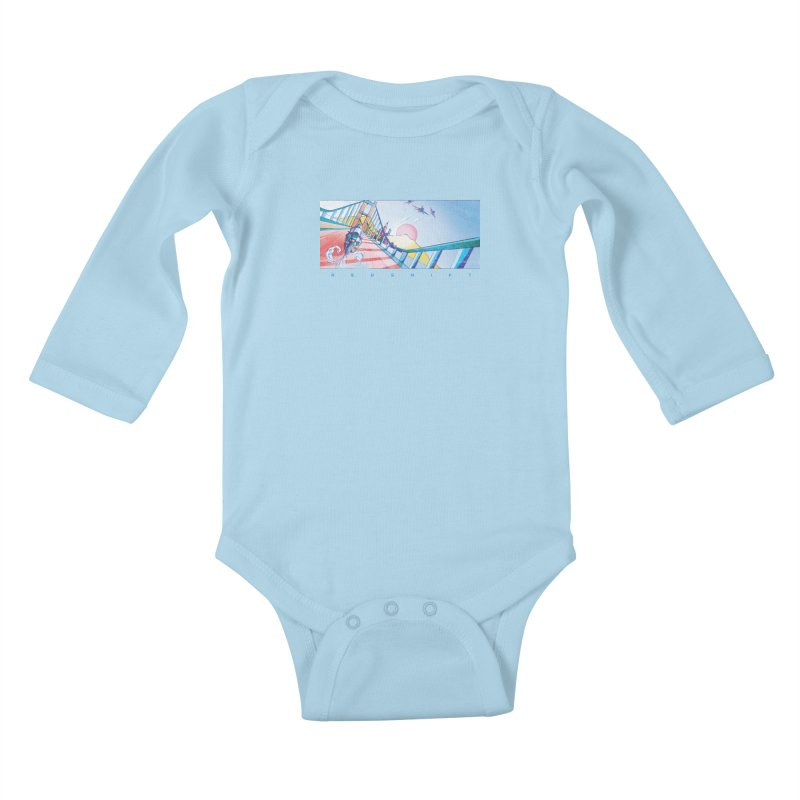 Redshift Kids Baby Longsleeve Bodysuit by Dega Studios
