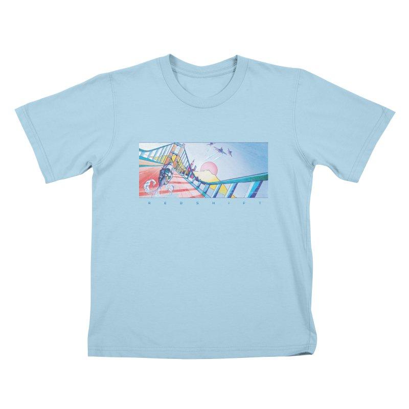 Redshift Kids T-Shirt by Dega Studios