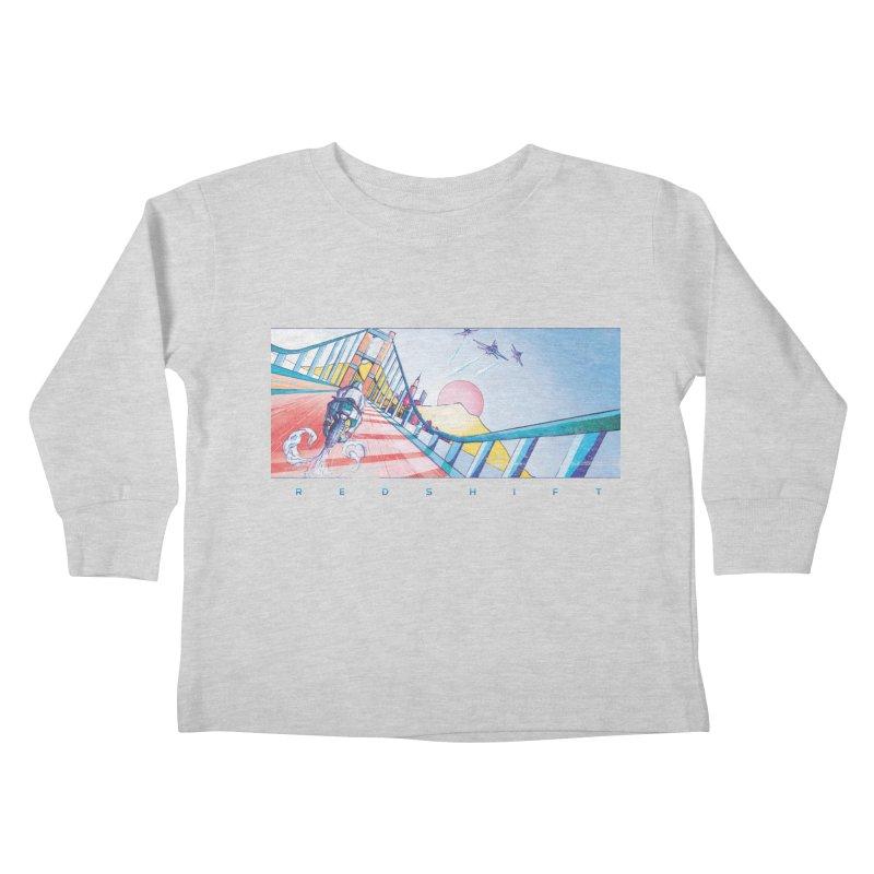 Redshift Kids Toddler Longsleeve T-Shirt by Dega Studios