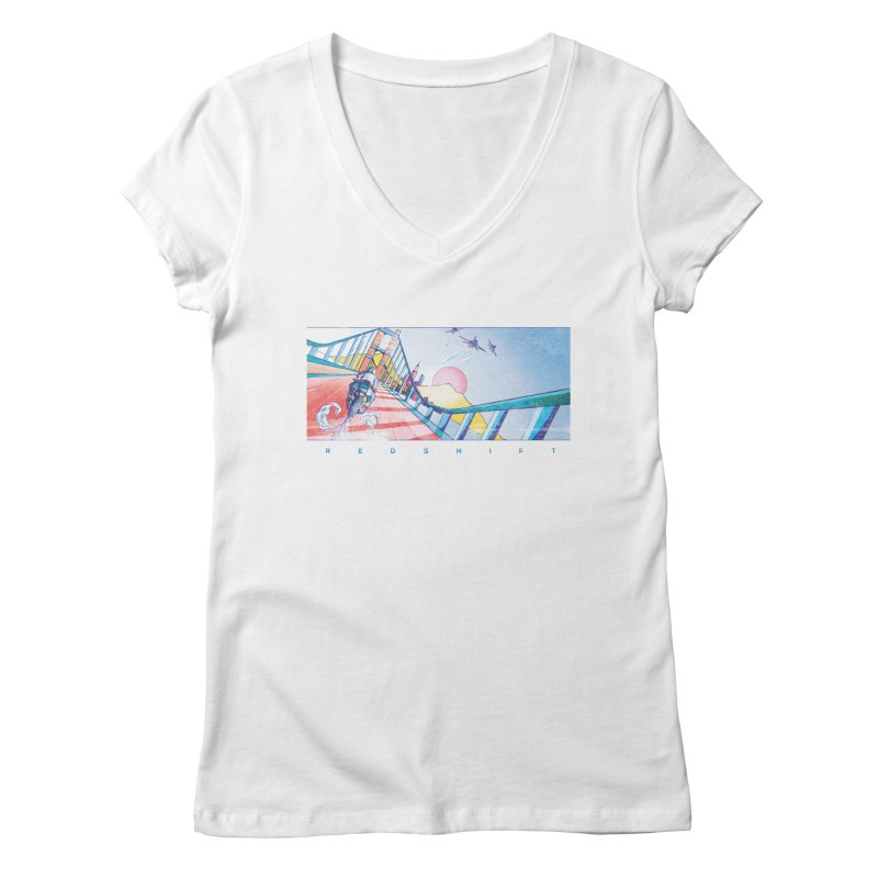 Redshift Women's V-Neck by Dega Studios