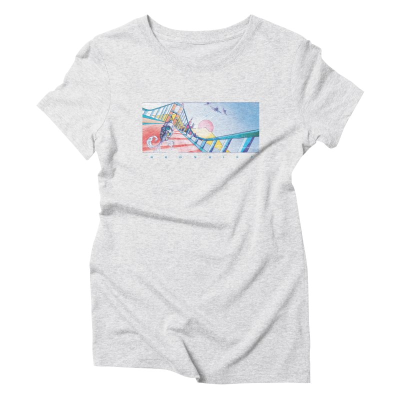 Redshift Women's Triblend T-shirt by Dega Studios
