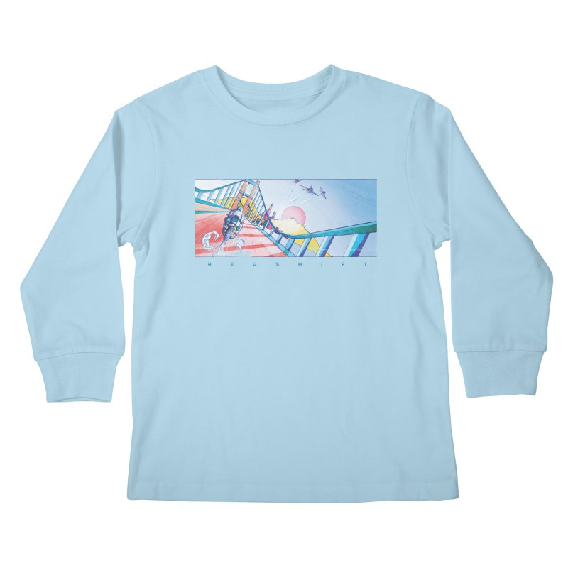 Redshift Kids Longsleeve T-Shirt by Dega Studios