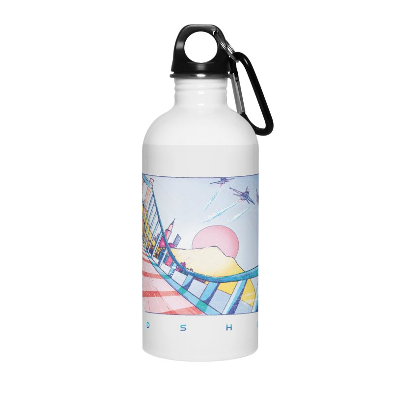 Redshift Accessories Water Bottle by Dega Studios