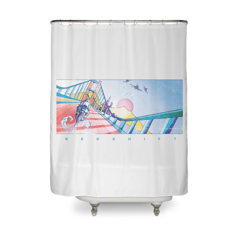 Redshift Home Shower Curtain by Dega Studios