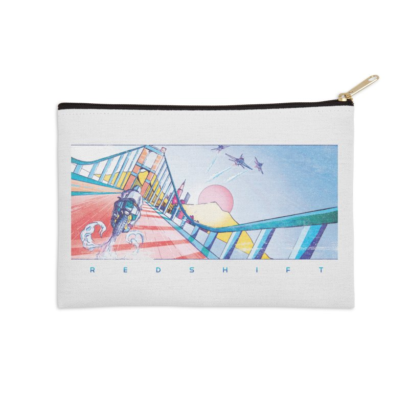 Redshift Accessories Zip Pouch by Dega Studios