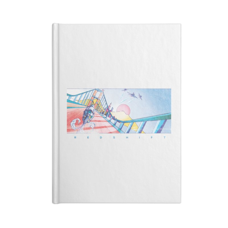 Redshift Accessories Notebook by Dega Studios