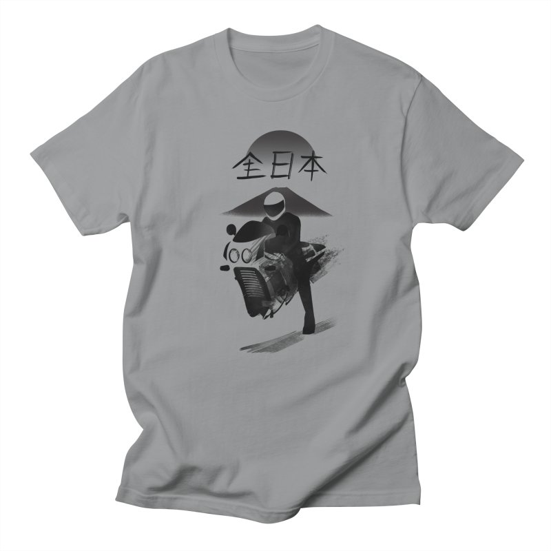 All Japan Autobike in Men's Regular T-Shirt Slate by Dega Studios
