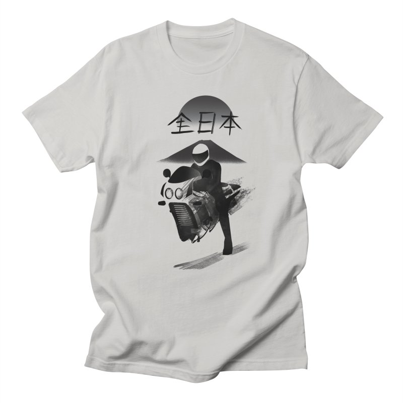 All Japan Autobike Women's Regular Unisex T-Shirt by Dega Studios