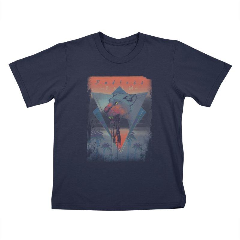 Endless Palm Kids Toddler T-Shirt by Dega Studios