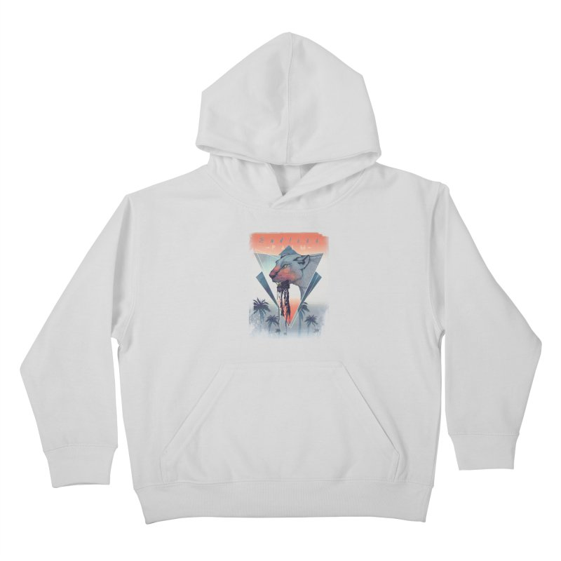 Endless Palm Kids Pullover Hoody by Dega Studios
