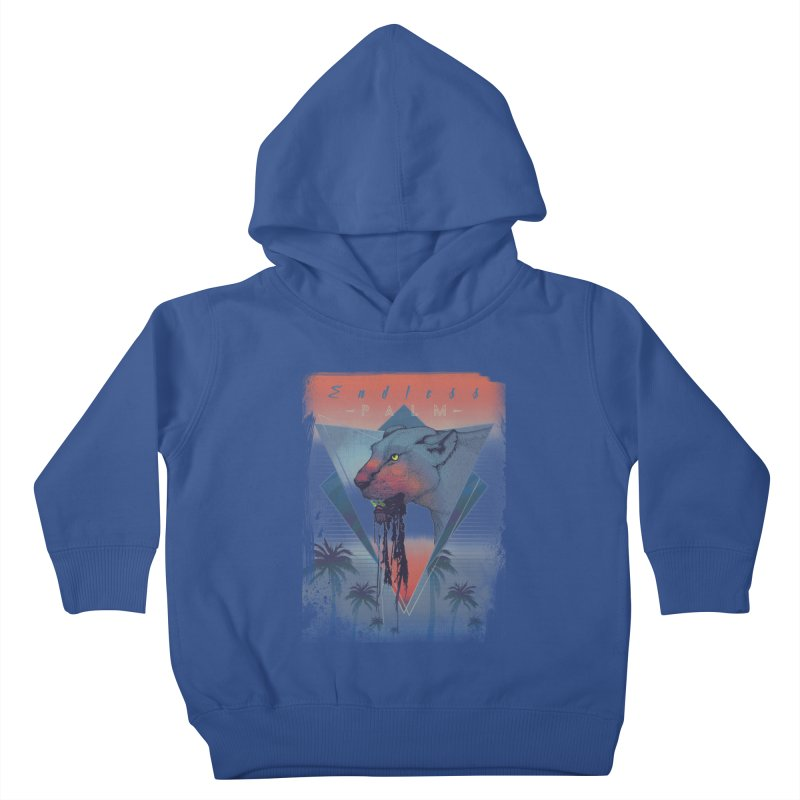 Endless Palm Kids Toddler Pullover Hoody by Dega Studios