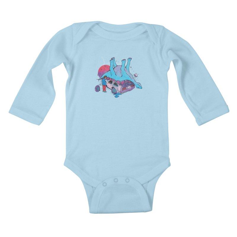 This is Heavy Kids Baby Longsleeve Bodysuit by Dega Studios