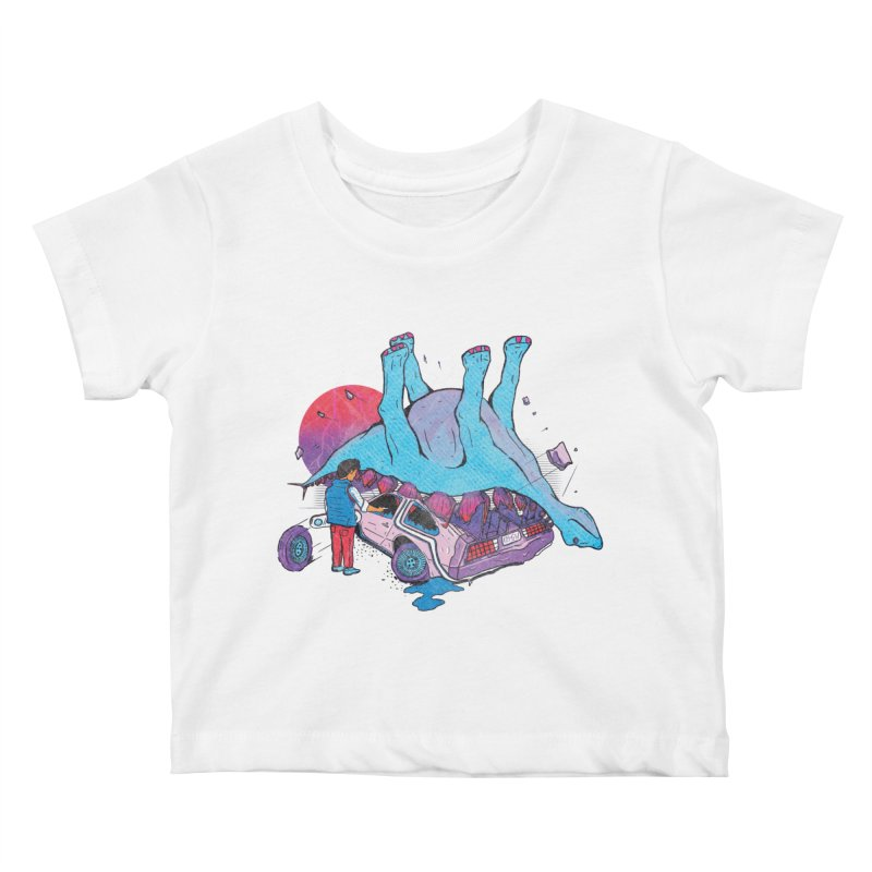 This is Heavy Kids Baby T-Shirt by Dega Studios