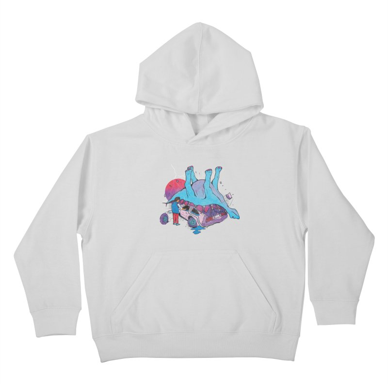 This is Heavy Kids Pullover Hoody by Dega Studios