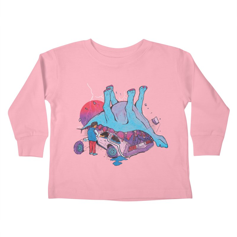 This is Heavy Kids Toddler Longsleeve T-Shirt by Dega Studios