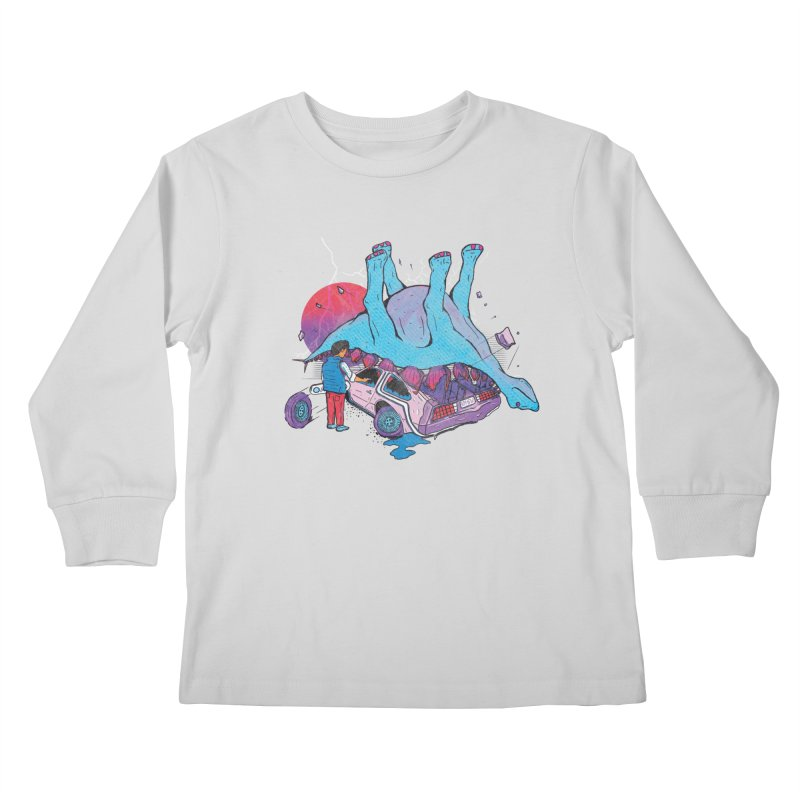 This is Heavy Kids Longsleeve T-Shirt by Dega Studios