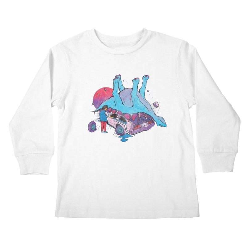 This is Heavy Kids Longsleeve T-Shirt by Dega Studios