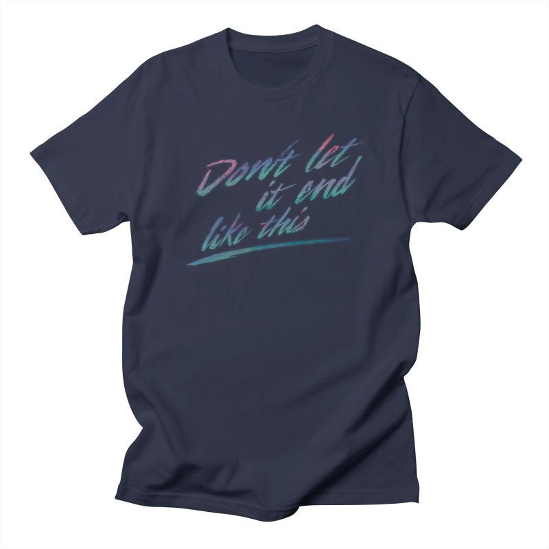Last Words Men's T-Shirt by Dega Studios