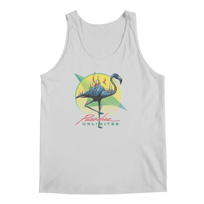 Paradise Unlimited Men's Regular Tank by Dega Studios