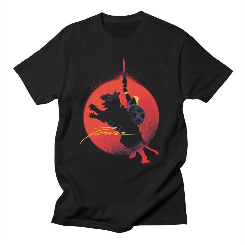 Power in Men's T-Shirt Black by Dega Studios