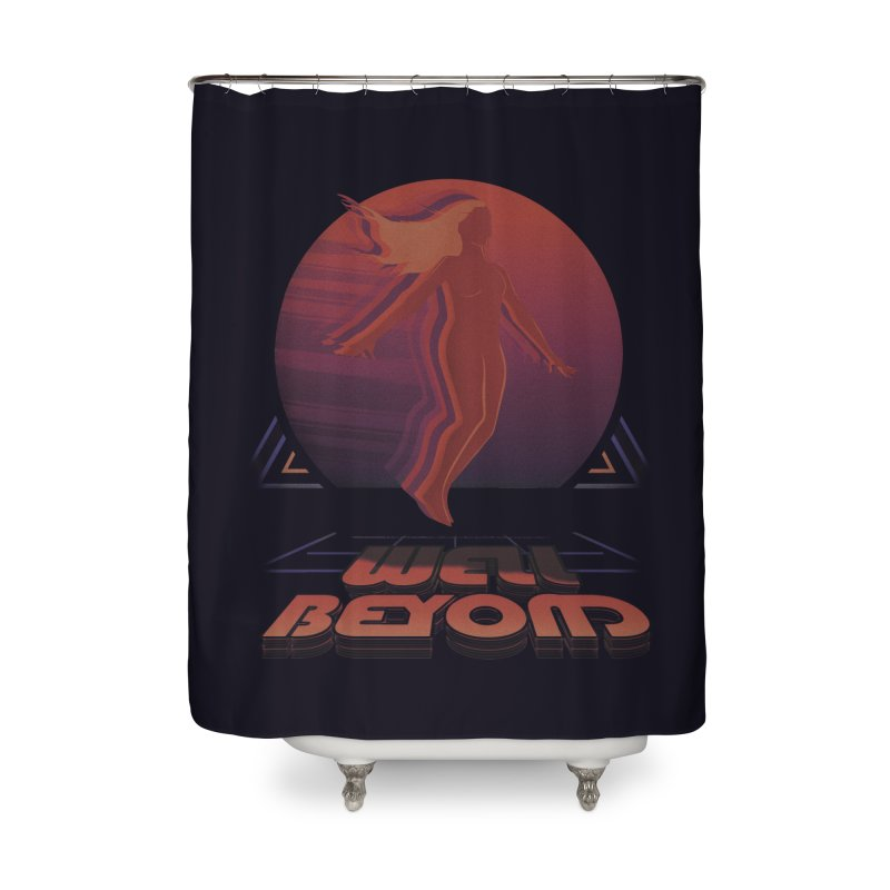 Well Beyond Home Shower Curtain by Dega Studios