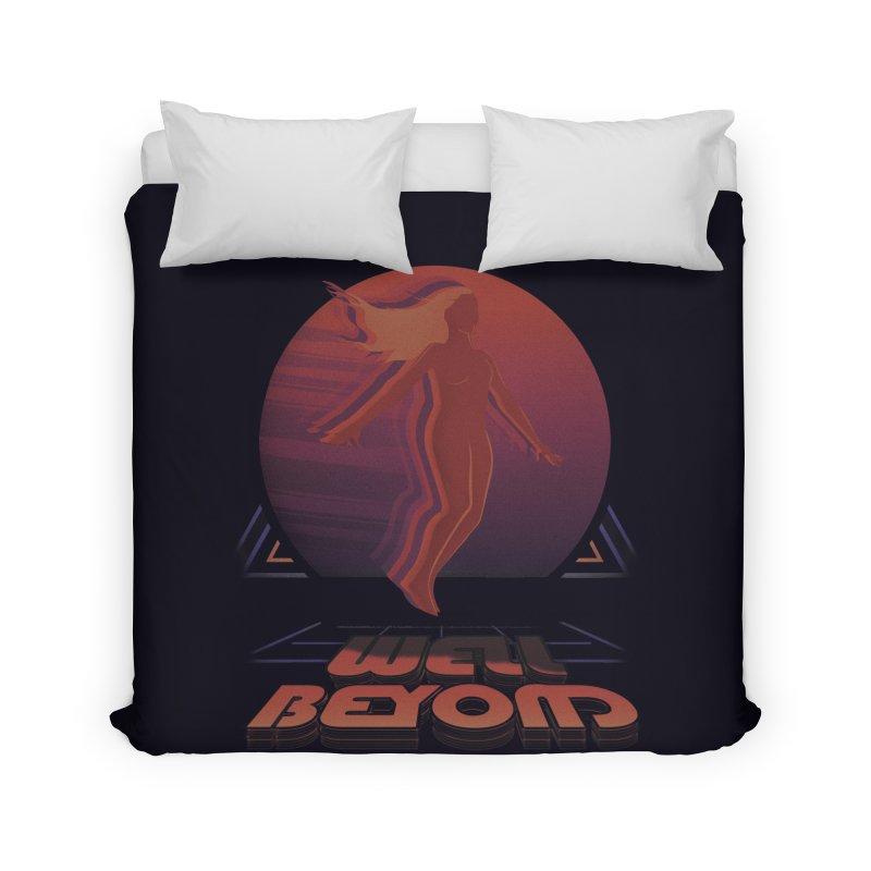 Well Beyond Home Duvet by Dega Studios
