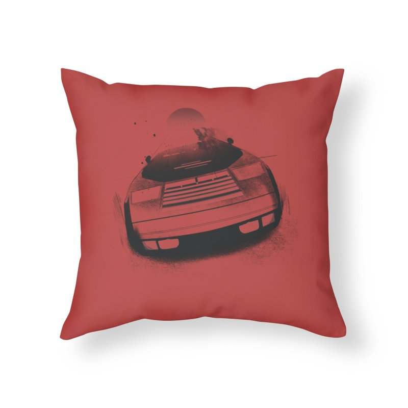 Vector V2 Home Throw Pillow by Dega Studios
