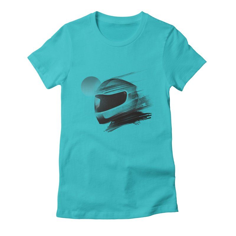 Archeo Speed Women's Fitted T-Shirt by Dega Studios